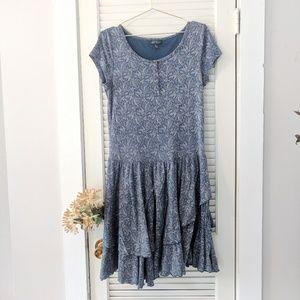 Lauren Ralph Lauren Cotton Paisley Floral Dress